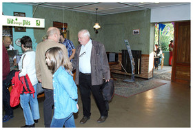 unsere Gäste … der Präsident des Verbandes Angeln und Naturschutz Thüringen - R. Karol trifft ein …