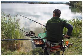 Hegefischen am KAF III E … Profi am Werk …