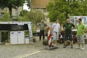 Stand des SAV zum Kinderfest der Gemeinde Barchfeld 2014