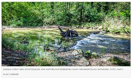 Angeln hilft Naturschutzgebieten