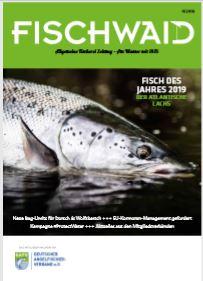Neues Gewand für FISCHWAID - Ausgabe 04.2018
